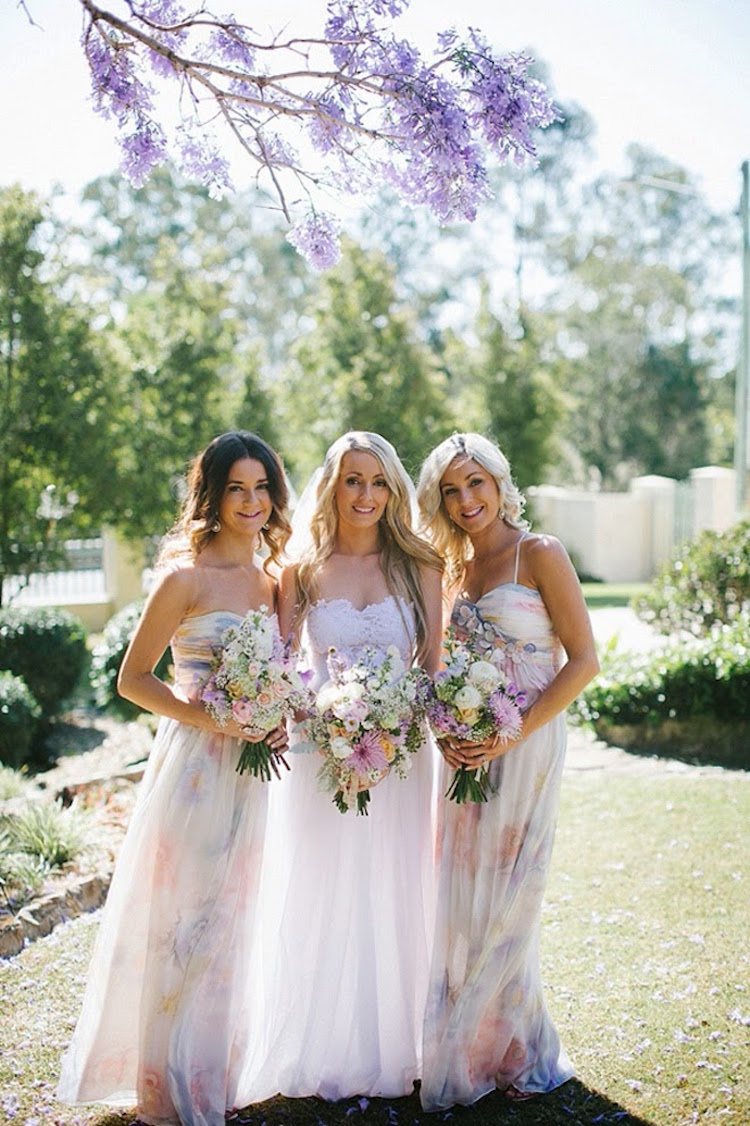 Bridesmaid Floral Dresses