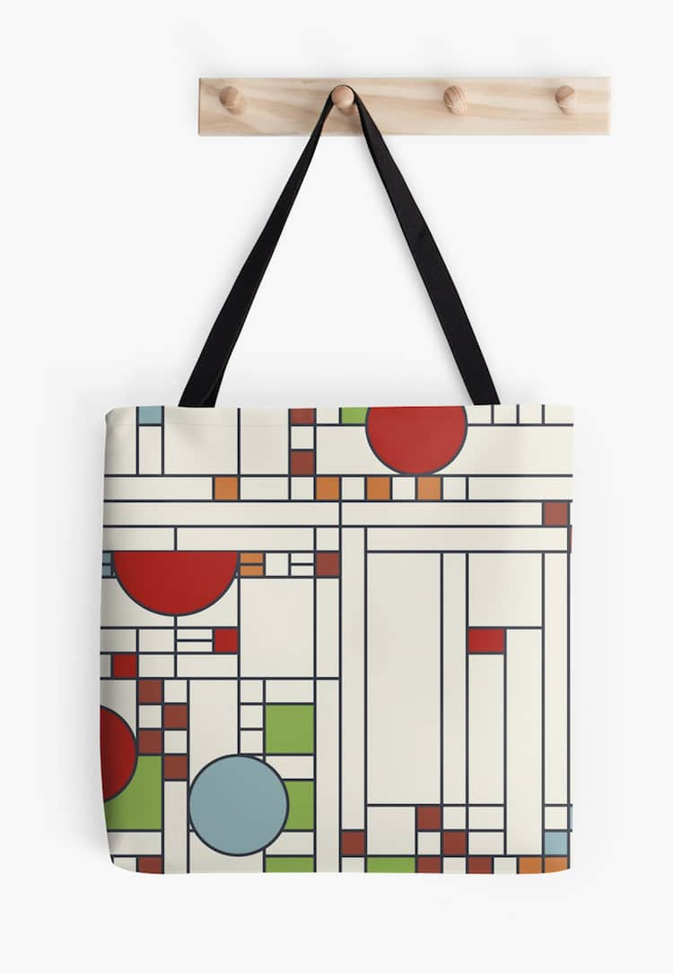 Frank Lloyd Wright Tote Bag