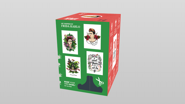 Frida Kahlo Action Figure Frida Action Figure Frida Figurine Frida Doll Frida Doll Today is Art Day
