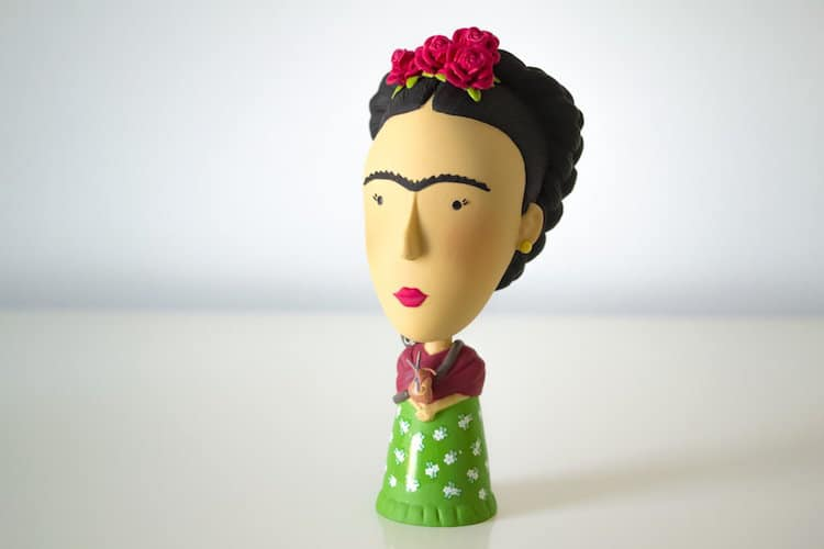 Frida Kahlo Action Figure Frida Action Figure Frida Figurine Frida Doll Frida Kahlo Doll Today is Art Day
