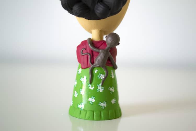 Frida Kahlo Action Figure Frida Action Figure Frida Figurine Frida Doll Frida Doll Today is Art Day