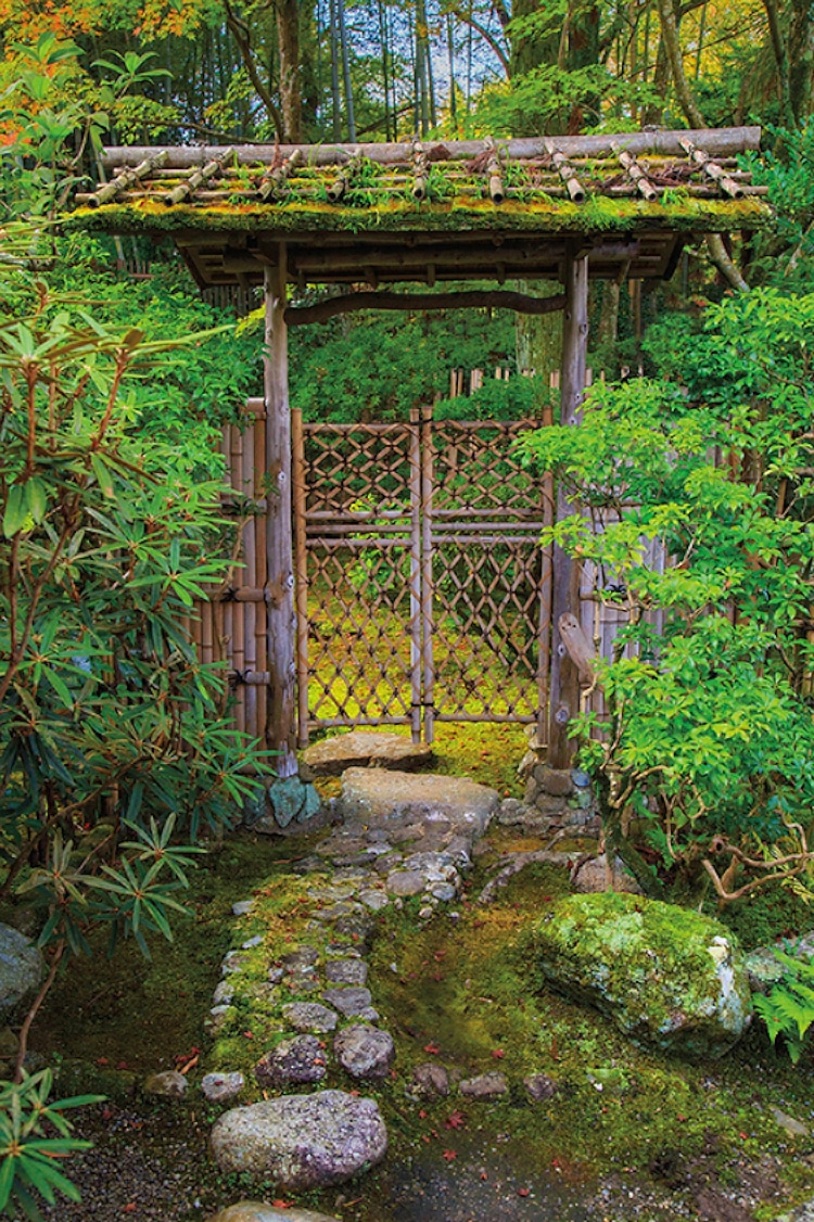 Landscape architect highlights the distinct beauty of the for Make a japanese garden gate