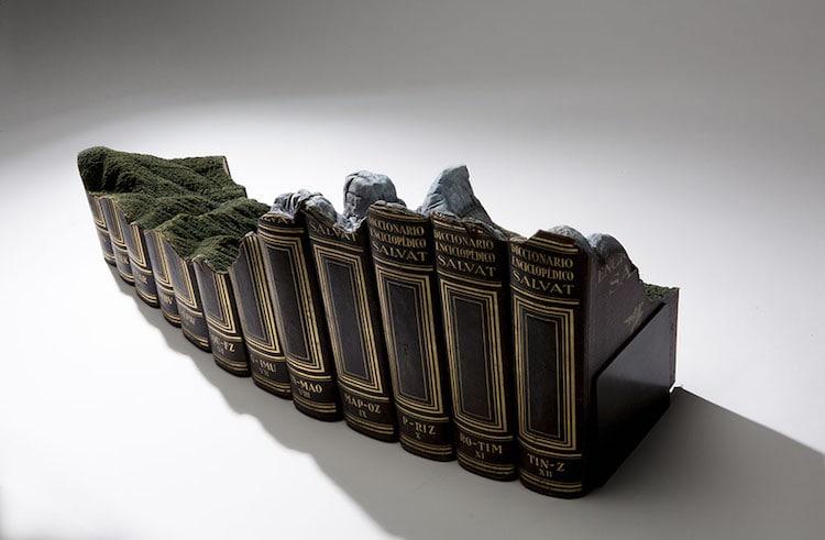 Book Sculpture Art