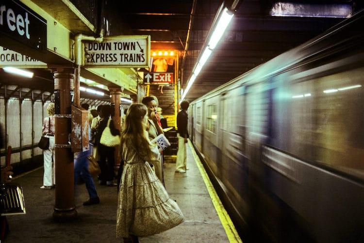 Metro de Nueva York en los 80