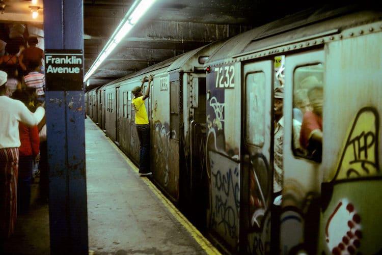 Metro de Nueva York en los 70 por Willy Spiller