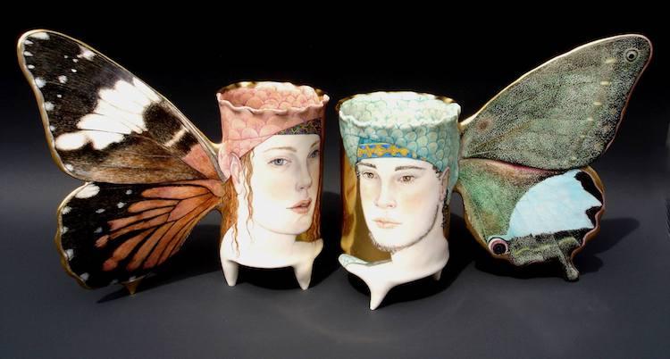 Porcelain Sculptures