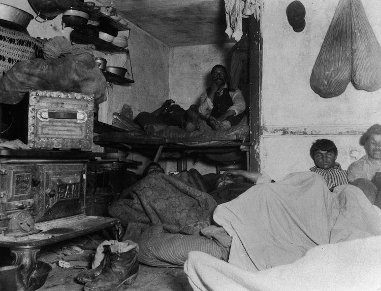 Foto de personas pobres de Jacob Riis