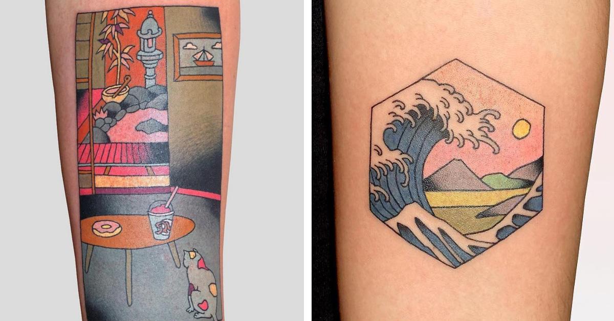 Tato Art Styles: Japanese Style Tattoos Put Modern Twist On Japanese