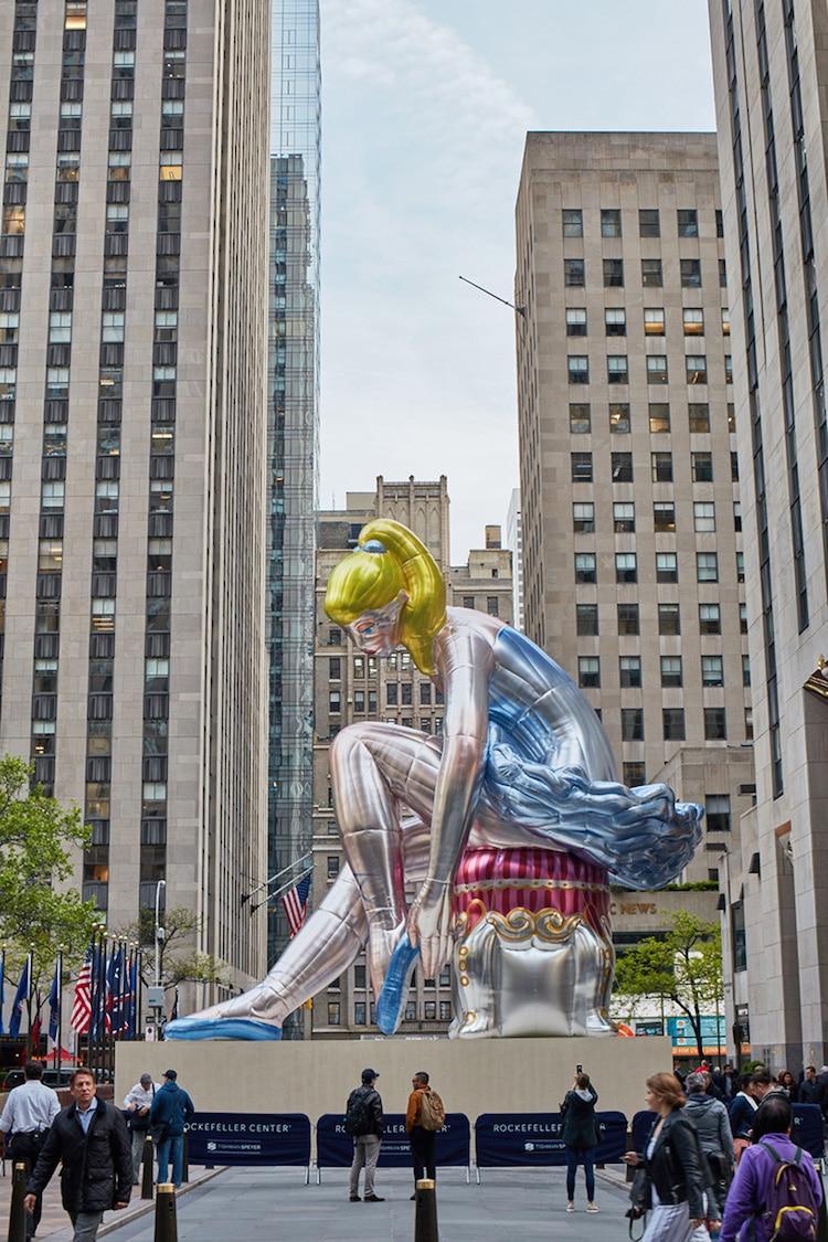 Jeff Koons Sculpture NYC