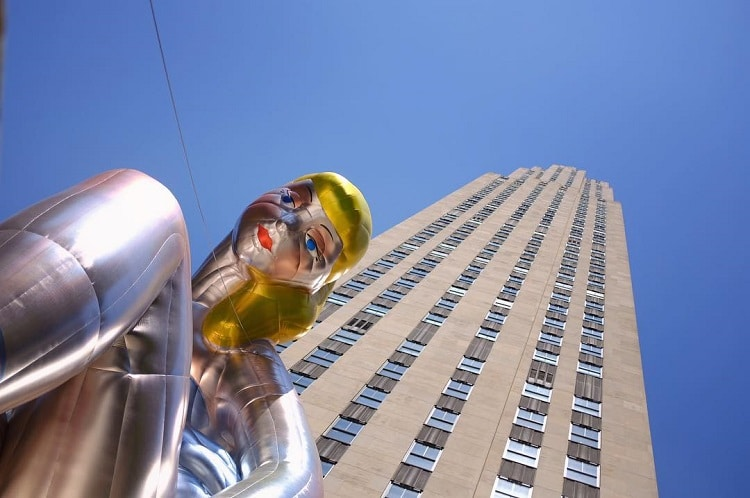 Jeff Koons Ballerina Sculpture