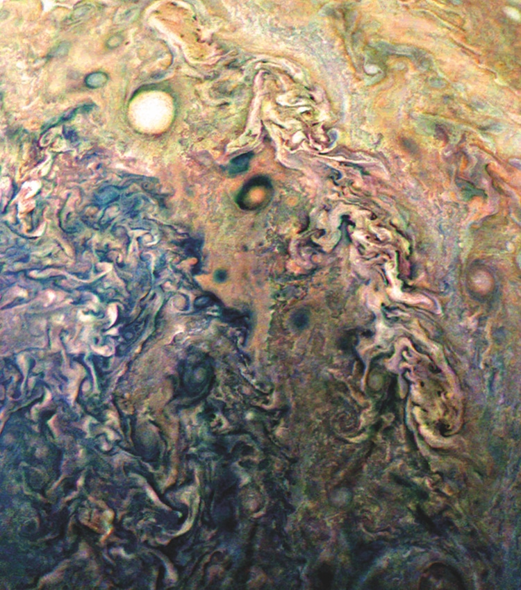 images of jupiter from junocam