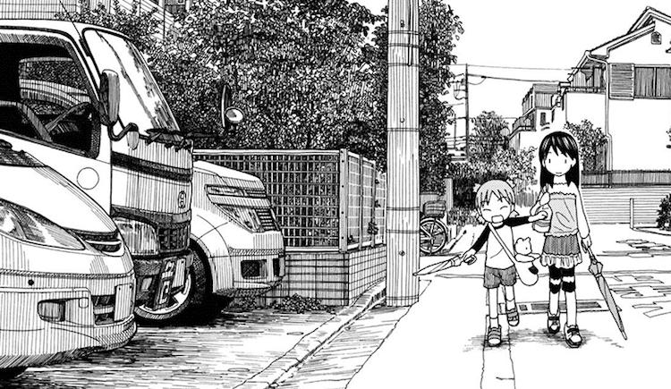 Kiyohiko Azuma Yotsuba&! Urban Sketches