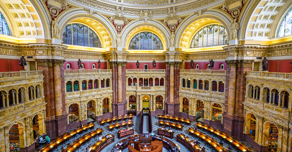 Library Of Congress Releases 25 Million Records For Free