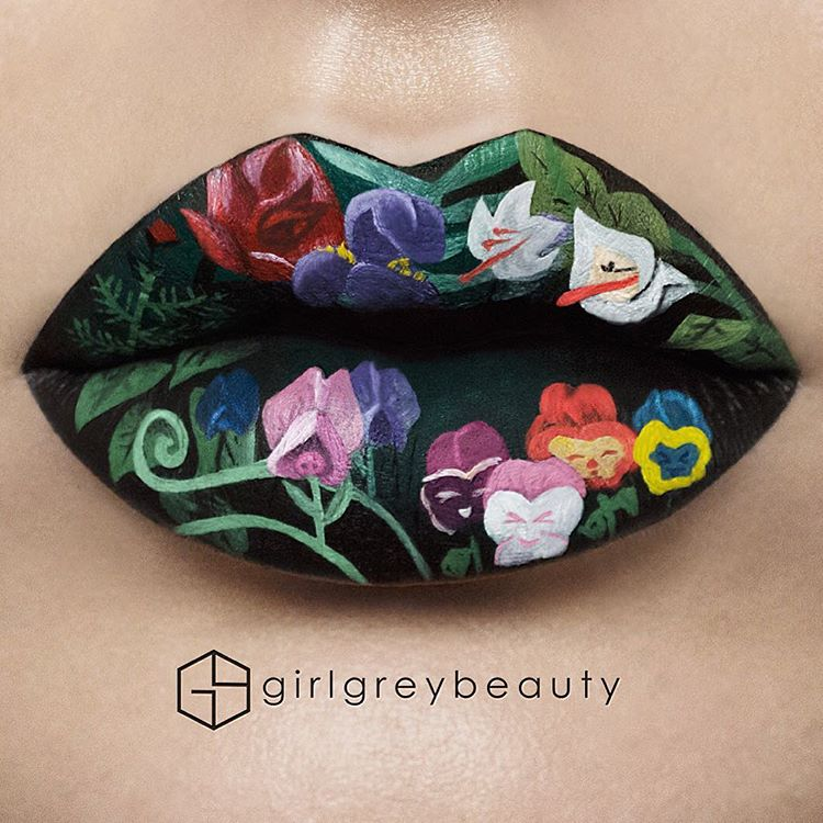 Makeup Artist Transforms Her Mouth Into Mesmerizing Lip Art