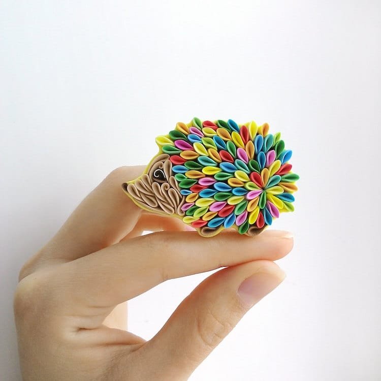Polymer Clay Jewelry by Liskaflower