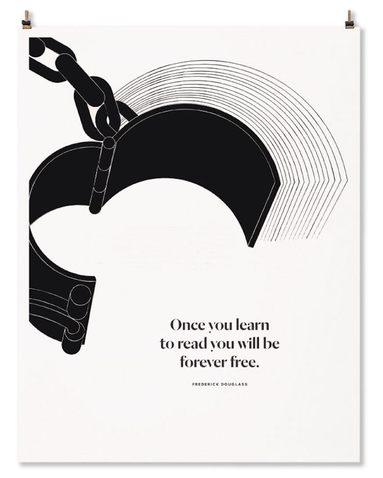 Literary Art Book Posters Book Quotes Letterpress Printing Obvious State