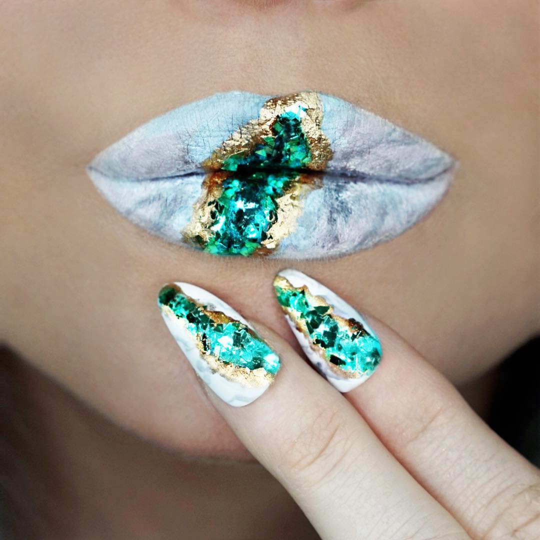 Marble Lips Is The Latest Lipstick Trend That S Creatively