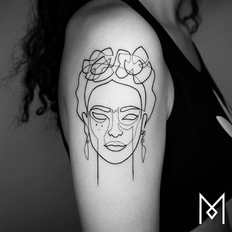 Minimalist Tattoo Single Line Tattoo Line Tattoos One Line Tattoo Mo Ganji
