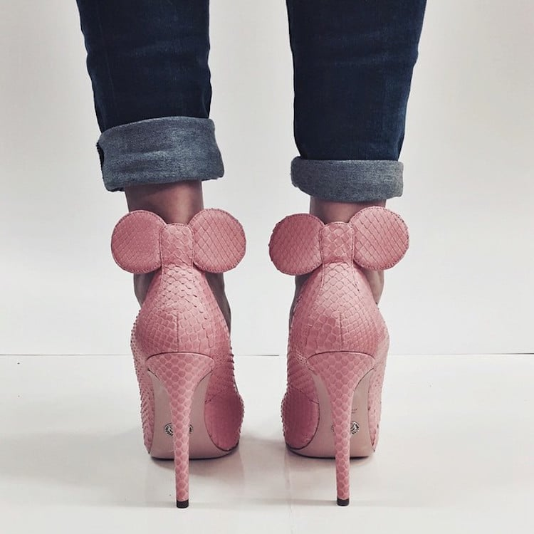 Minnie Mouse Shoes Oscar Tiye Disney Inspired Outfits