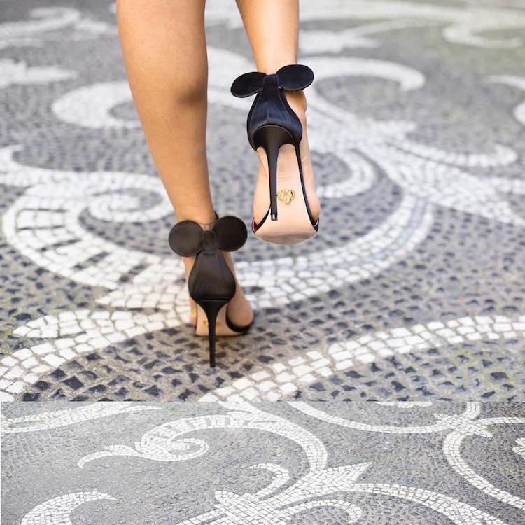 5da6c50d17d Footwear brand Oscar Tiye has designed a line of Minnie Mouse shoes. Minnie  Mouse Shoes Oscar Tiye Disney Inspired Outfits