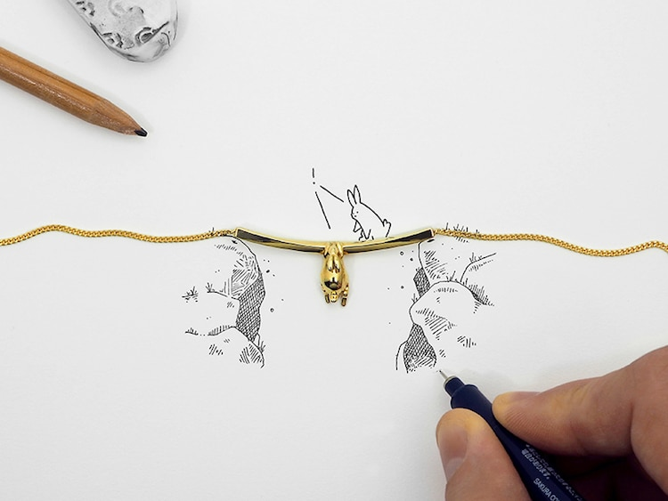 3D Printed Jewelry by Multiply Like Rabbits