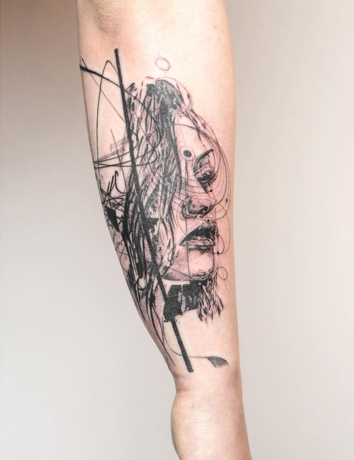 Line Drawing Tattoos London : Mowgli the london tattoo artist creating unforgettable