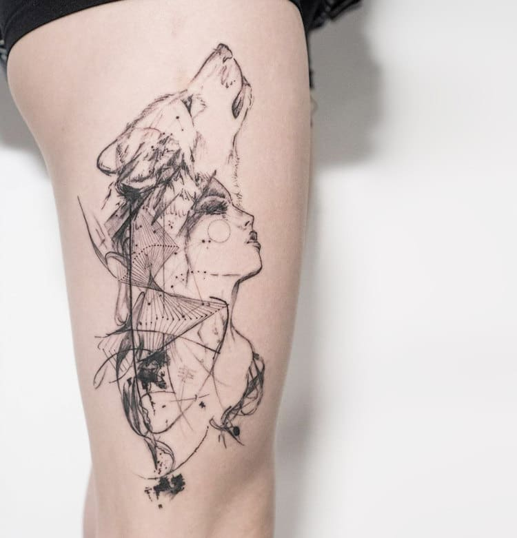 Mowgli The London Tattoo Artist Creating Unforgettable Abstract Tattoos