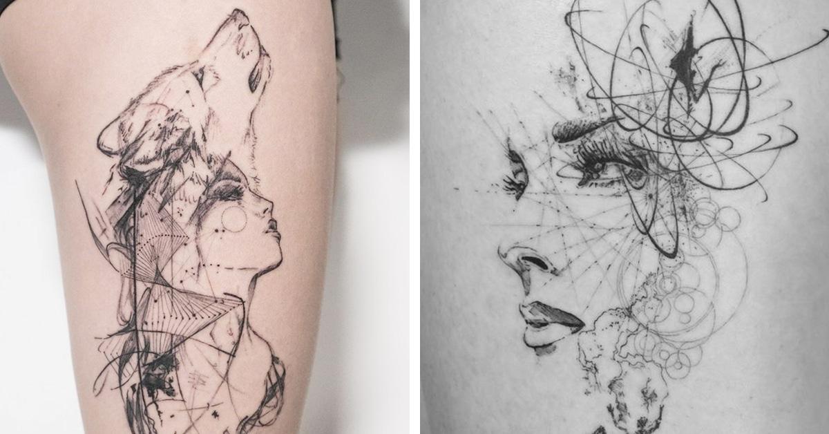 Line Drawing Tattoo Artists London : Mowgli the london tattoo artist creating unforgettable
