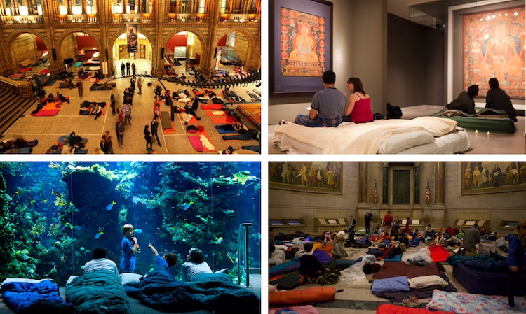 Museum Sleepovers Night at the Museum Slumber Party