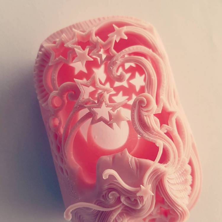 Narong carved soap