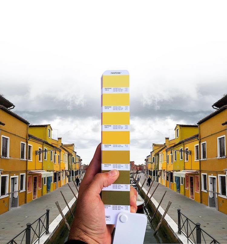 Pantone Match Pantone Landscape Color Study Andrea Antoni Designer