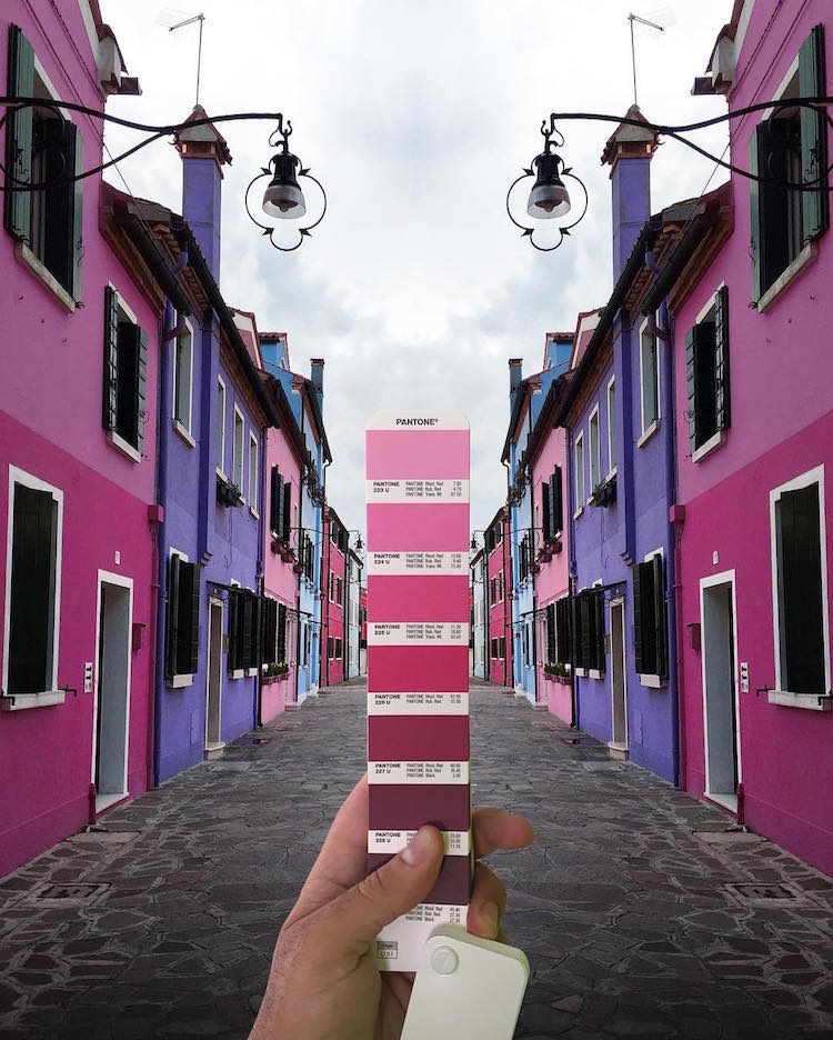 Pantone Match Pantone Landscape Color Study Andrea Antoni
