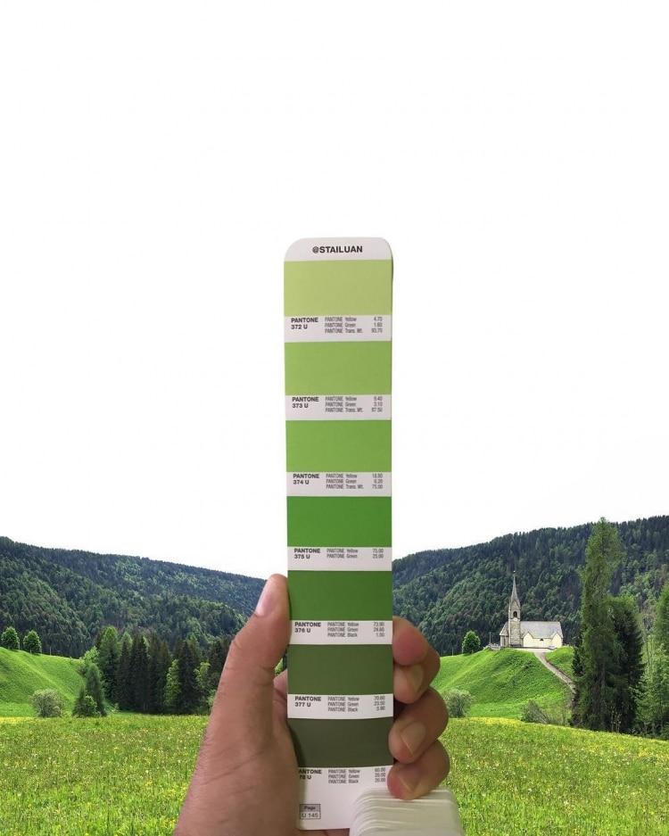 Pantone Match Pantone Landscape Color Study Andrea Antoni Design