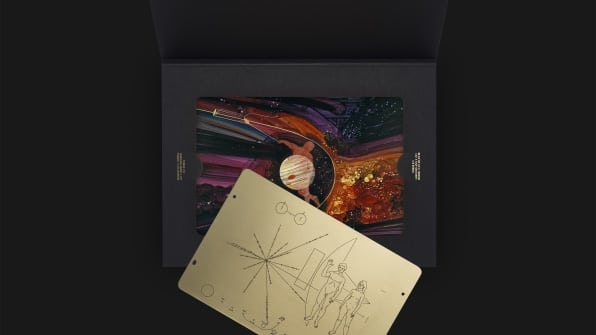 pioneer plaque replica