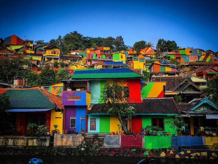 Kampung Pelangi Rainbow Village Indonesia