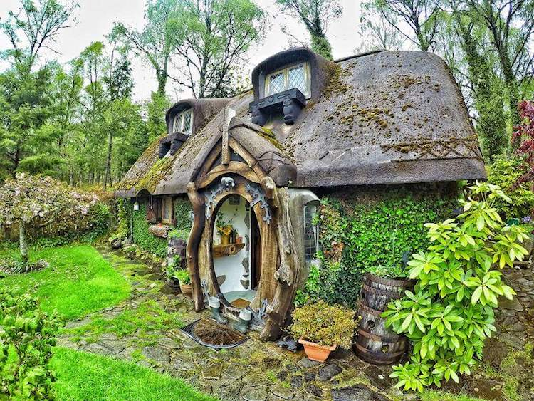 Real Life Hobbit House The Real Hobbit House