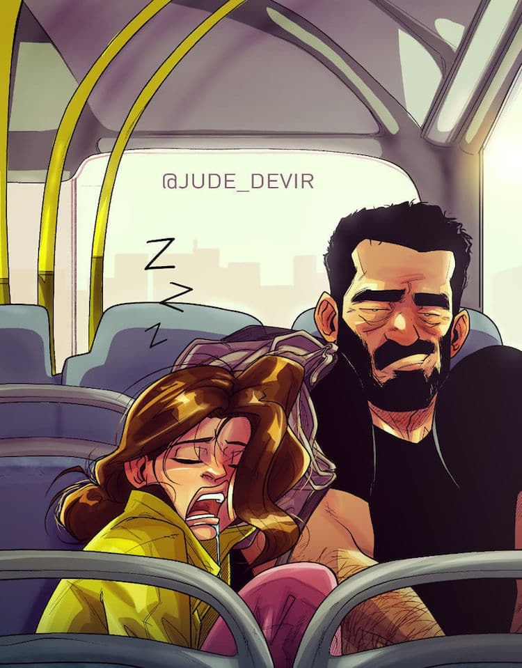 Relationship Comics Yehuda Adi Devir Illustration