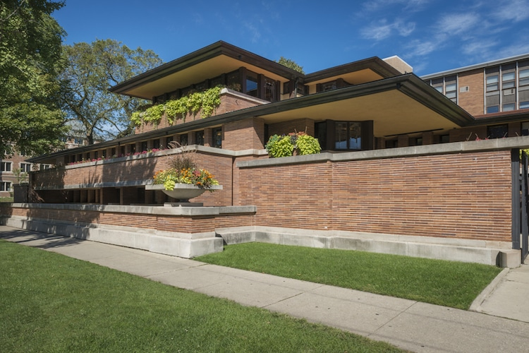 Frank Lloyd Wright architecture Robie House