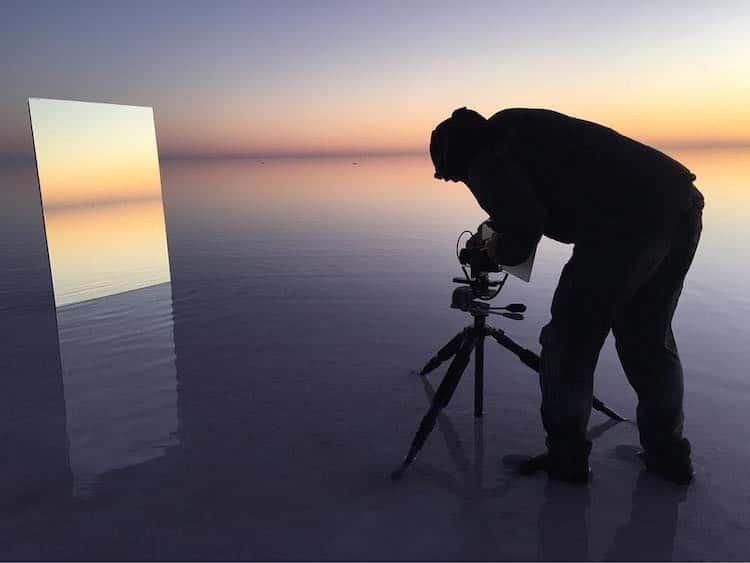Salt Vanity Series Landscape Mirrors Murray Fredericks Photography Art