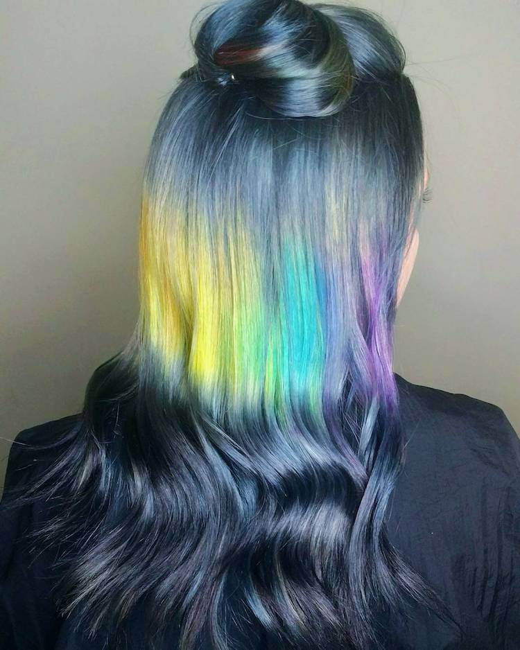 Shine Line Hair Trend