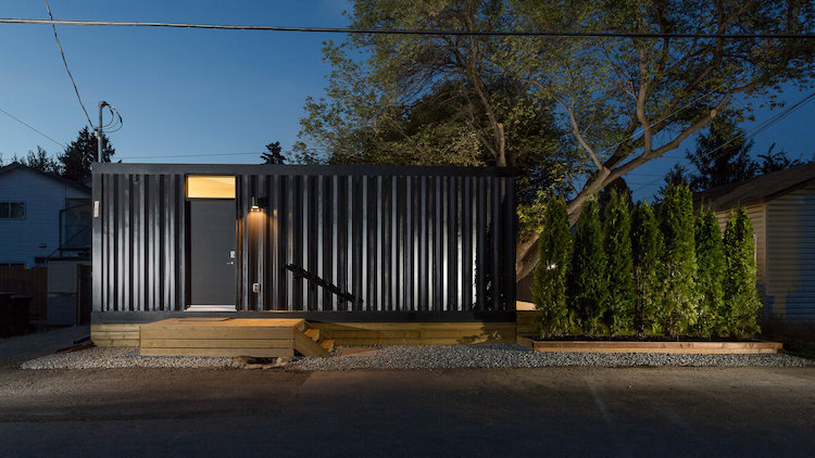 Homes Made of Shipping Containers