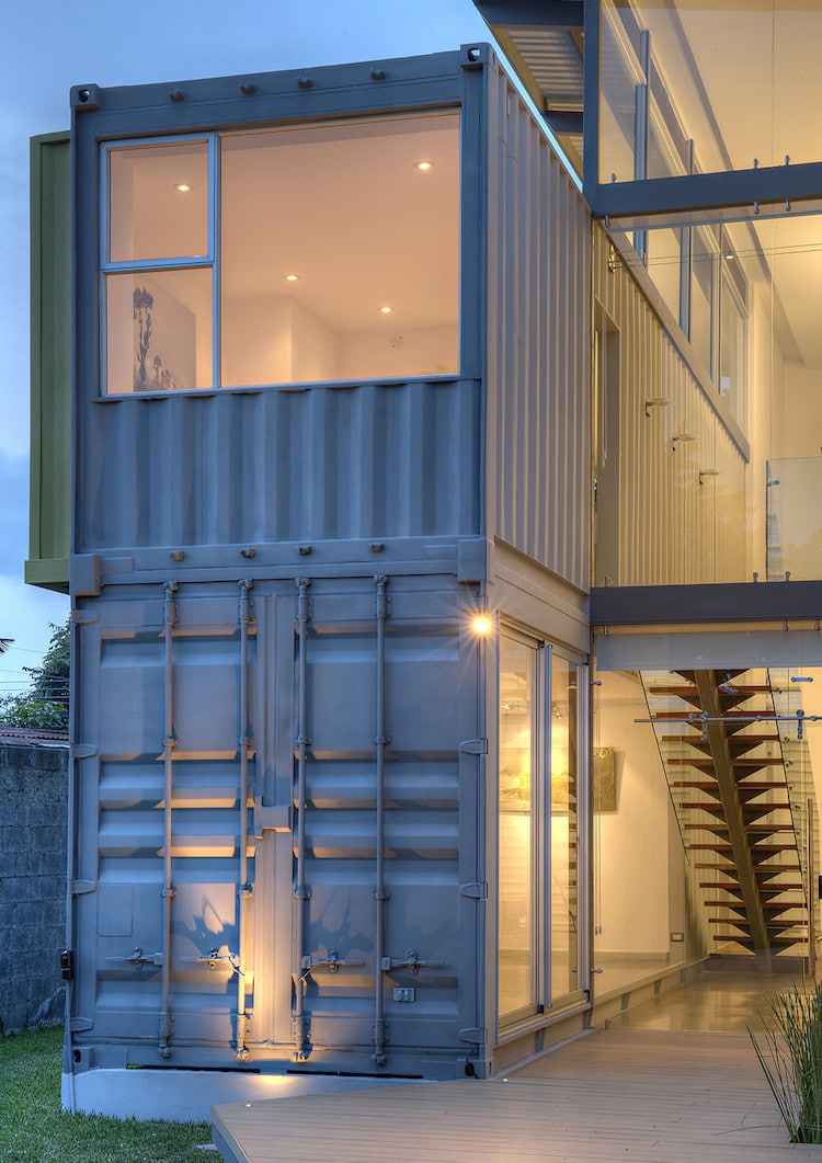 Modern shipping container homes are unique eco friendly - Companies that build shipping container homes ...