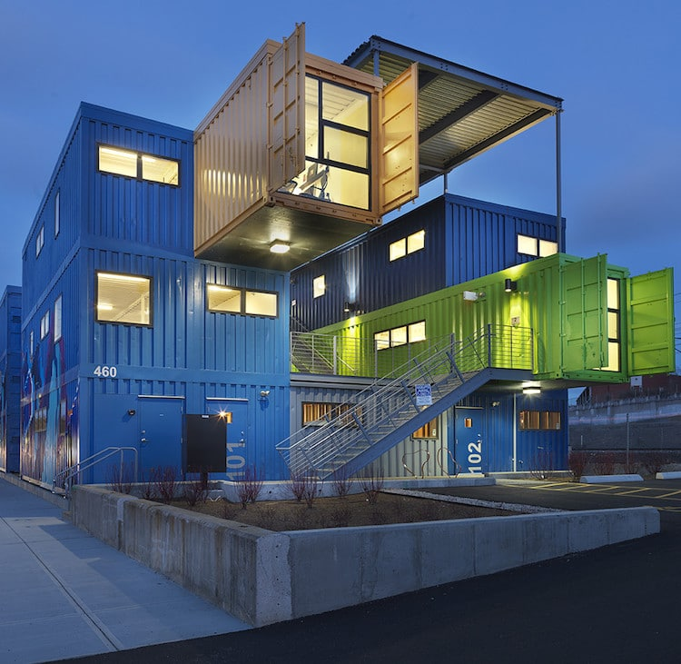 storage container houses modern shipping container homes are unique eco friendly 10040