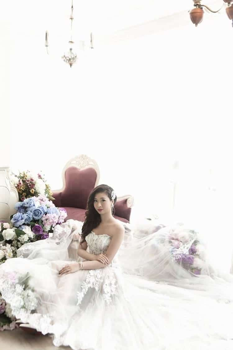 Solo Bridal Photos Wedding Photography Inspirational Photos Q May Chen