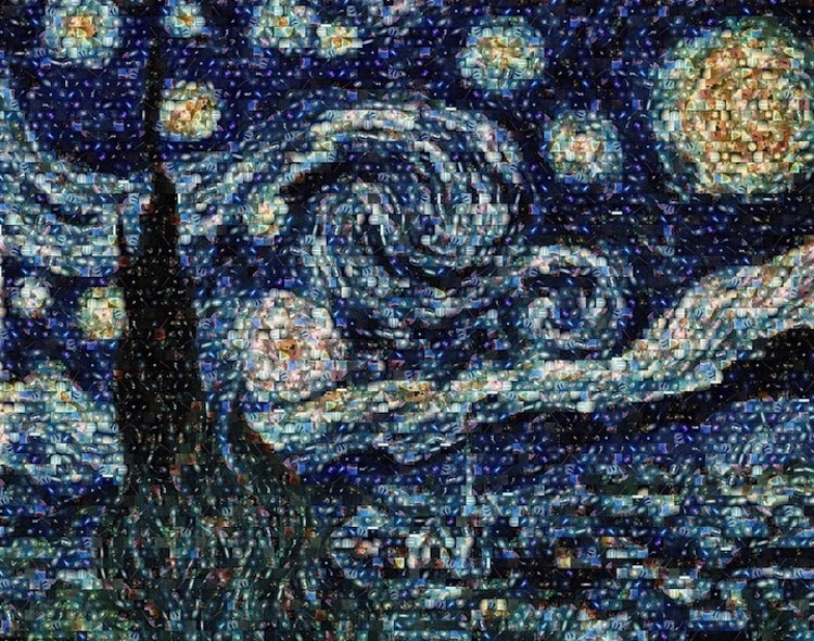 Van Gogh Starry Night Art Post-Impressionism Famous Paintings