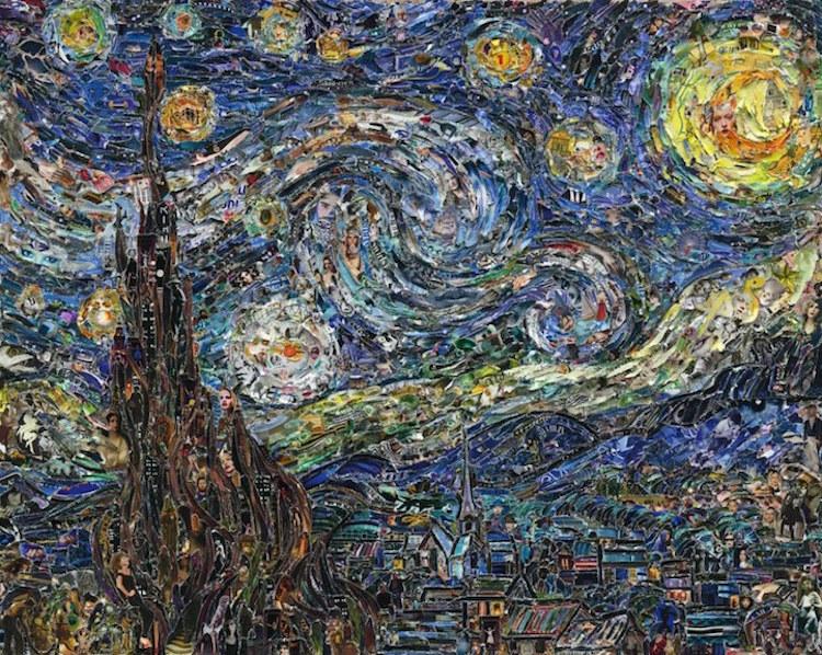 Van Gogh la noche estrellada