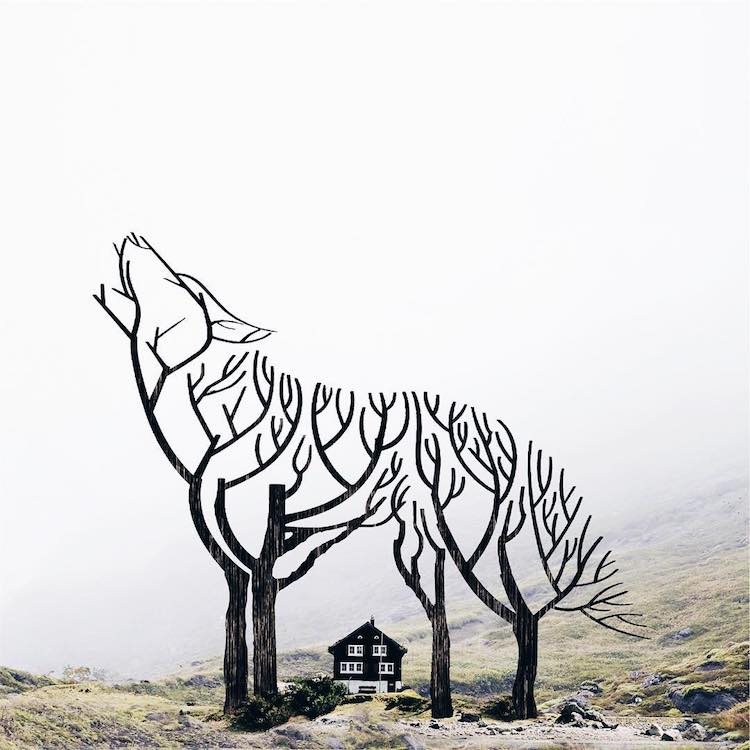 Surreal Composite Photos by Luisa Azevedo