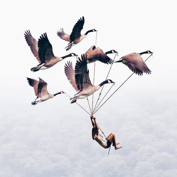 Surreal Composite Photos by Luisa Azevedo