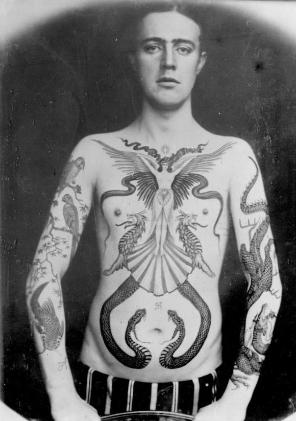Sutherland Macdonald Primer Tatuador de Inglaterra Historia del Tatuaje