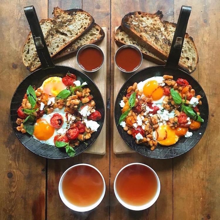 SymmetryBreakfast Food Photography Food Photographer Michael Zee